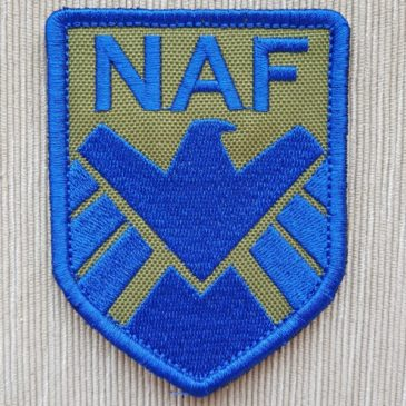 Шеврон NAF (синий)