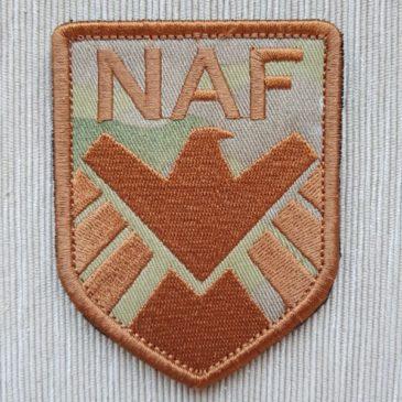 Шеврон NAF (полевой)