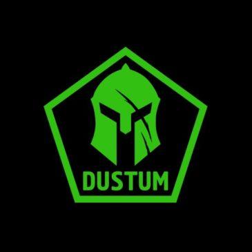 Наклейка Дустума (малая)
