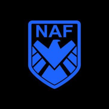 Наклейка NAF (малая)