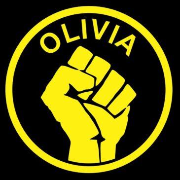 Наклейка Оливии (большая)