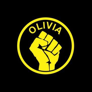 Наклейка Оливии (малая)